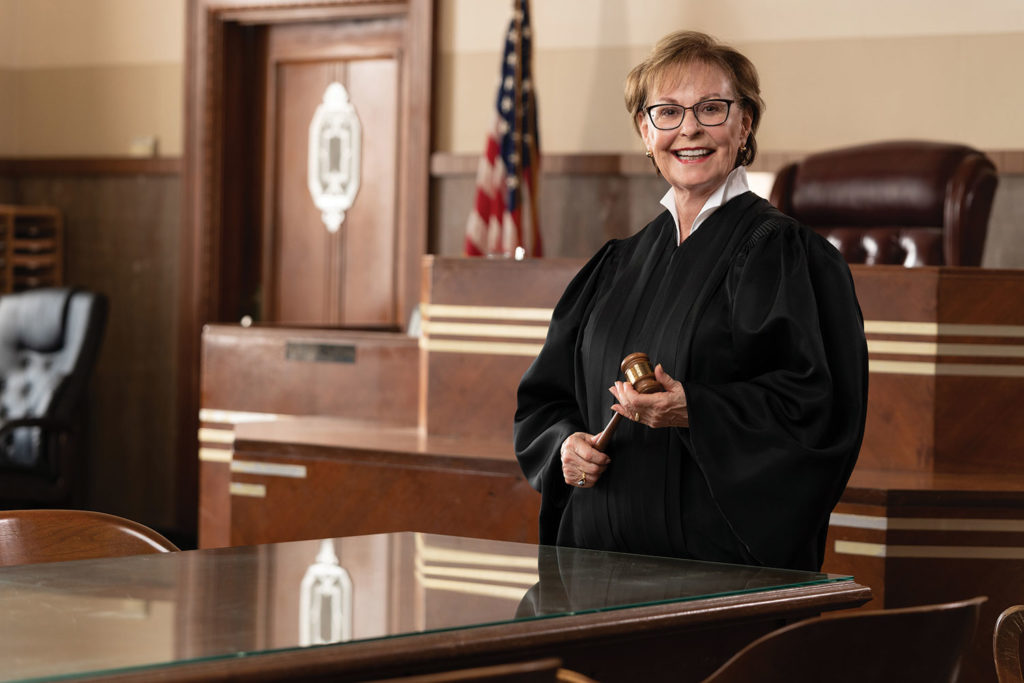 Judge Nancy Coats-Ashley in a courtroom