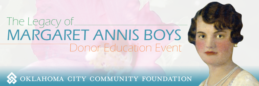 Legacy of Margaret Annis Boys Donor Education Event banner