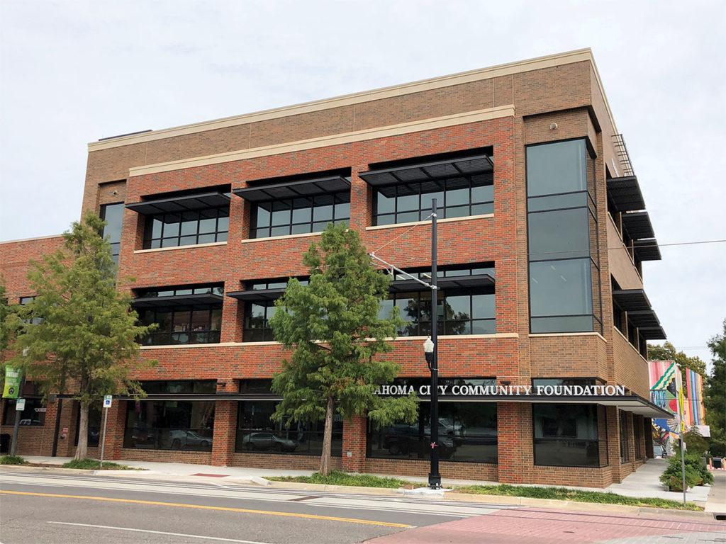 OCCF building exterior