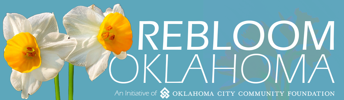 Rebloom Oklahoma header image with yellow daffodils
